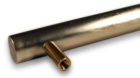 Maniglia tondo alluminio  BRTZ ombra   Maniglia tondo alluminio Maniglie Alluminio  BRTZ ombra   Art. 233 alluminio