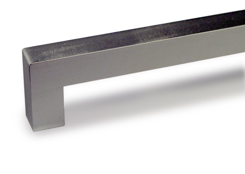 Aluminium handle 30 x 12