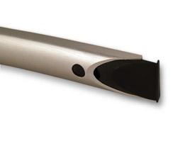 Spanish Aluminium handle teca sezione ombra  Spanish Aluminium handle Aluminum handles teca sezione ombra